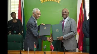 T&T And Guyana Sign MoU On Energy Sector Cooperation