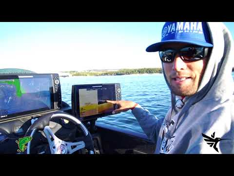 SW Tip - Justin Lucas on Humminbird Mega Depth Lines