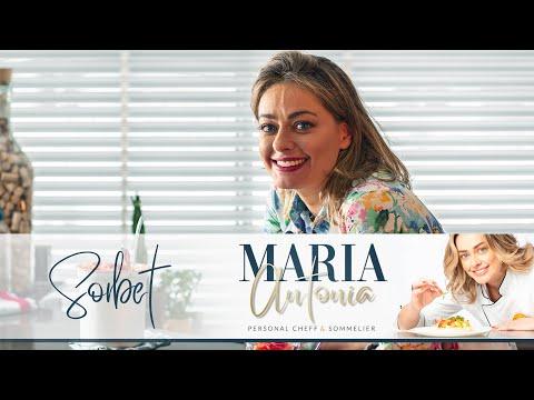 COMO FAZER SORBET DE MORANGO | RECEITA VEGANA | MARIA ANTONIA RUSSI