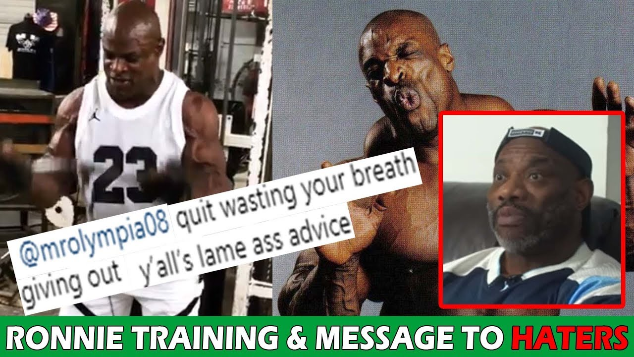 Ronnie Coleman STILL Training & Responds to Dexter Jackson's comment! (2019)