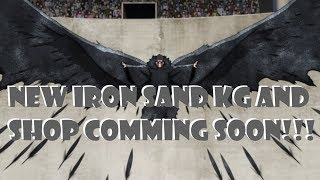 NEW IRON SAND KG AND KG TRIES SHOP COMING SOON!!! ROBLOX NRPG- BEYOND