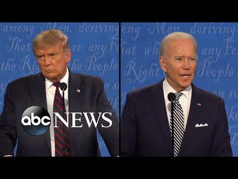 Biden and Trump face off on health care