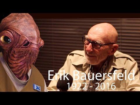 Erik Bauersfeld: The Voice behind Admiral Ackbar