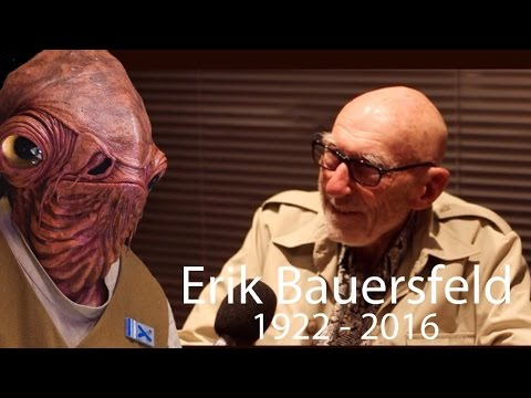 Erik Bauersfeld: The Voice behind Admiral Ackbar (His final interview)