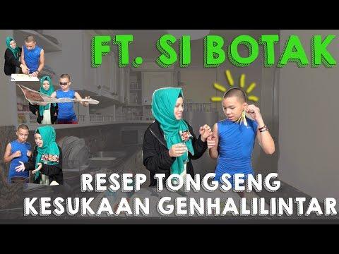 Masak Bareng Si Botak (TONGSENG) #myannoyinglilbro | sajidah halilintar cooking style #ramadhan