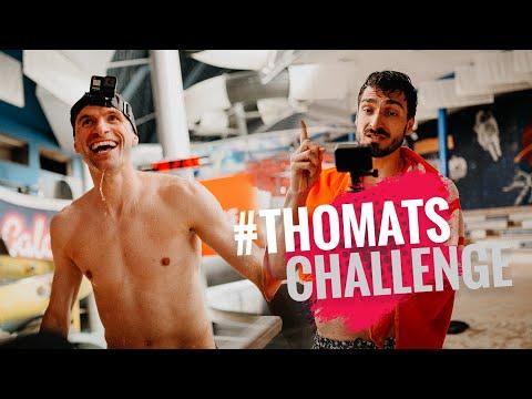 #ThoMats Rutschen-Challenge – Thomas Müller und Mats Hummels im Schwimmbad Teil 2!