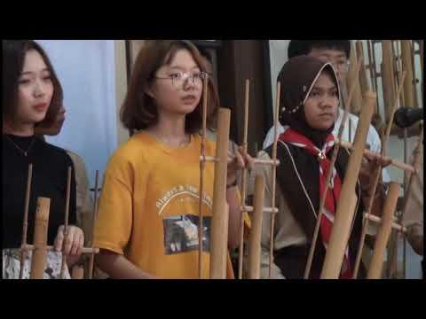 Tanah Airku (Angklung Version) - Collaboration of Korean and Indonesian students