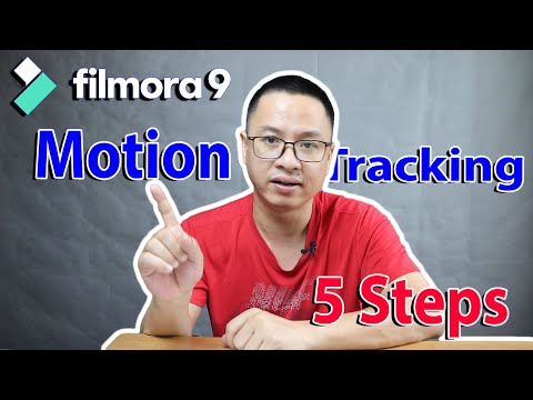 How to do Motion Tracking In Filmora 9 - Designed for Beginners