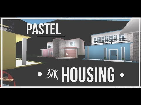 Roblox | Bloxburg | Pastel Townhouses | Housing