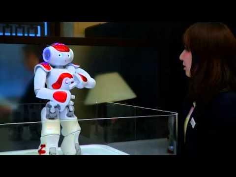 Japanese bank starts using pint-sized robot as bank teller