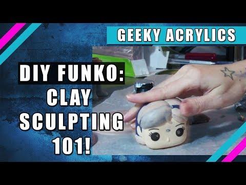 DIY Custom Funko Pop: Sculpting With Clay
