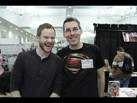 Aaron Ashmore Interview - Smallville, Warehouse 13 - SuperMegaFest!