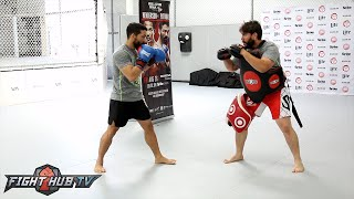 Henderson vs. Patricio Pitbull- Patricio Pitbull Freire Complete Media workout video