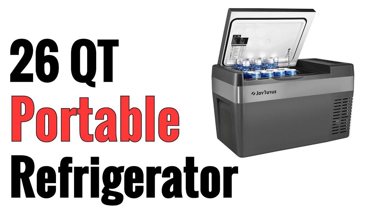 Joy Tutus 26 Quart Portable Refrigerator Car Cooler