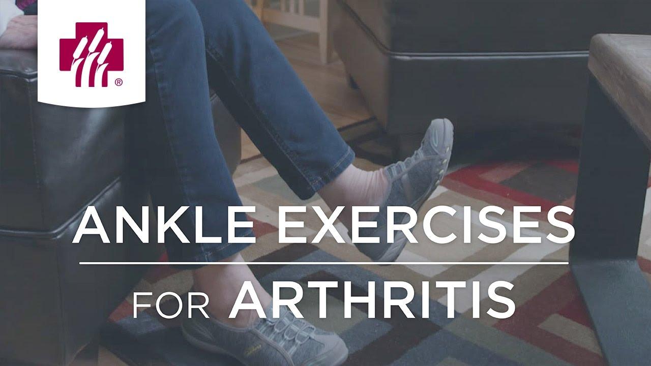 exercise for arthritis in feet)