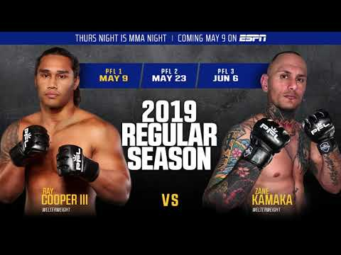 Ray Cooper III and Zane Kamaka Sound Off On Their 2019 PFL 1 Fight