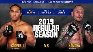 Ray Cooper III and Zane Kamaka Sound Off On Their 2019 PFL 1 Fight