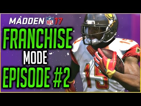 MADDEN 17 FRANCHISE MODE: BIG DECISIONS FOR THE CONQUISTADORS!