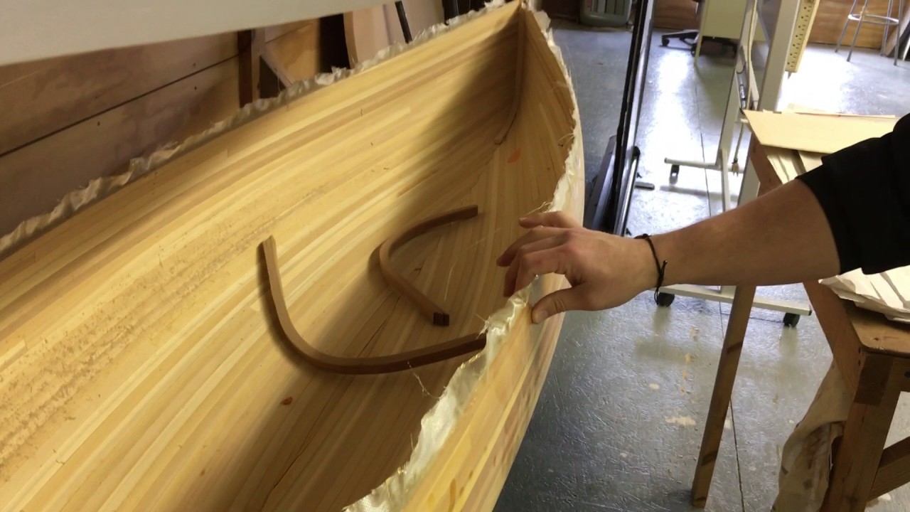 Great Lakes Boat Building School Visit - YouTube