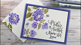March Release Product Tour and Card Project