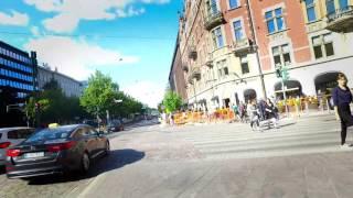 По Хельсинки на велосипеде 30.08.2016 dji OSMO(Прогулка по центру Хельсинки, начиная от Успенского собора, далее вдоль Кауппатори, парк Эспланады, поворот..., 2016-09-01T20:52:05.000Z)