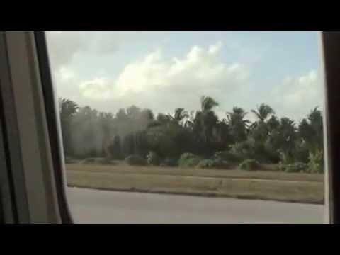 Departure from Nadi in Fiji to Tarawa in Kiribati : 14/02/13