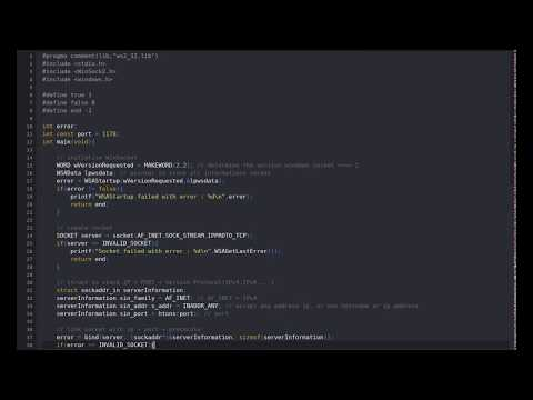 Simple Chat On Windows Using C (Socket)