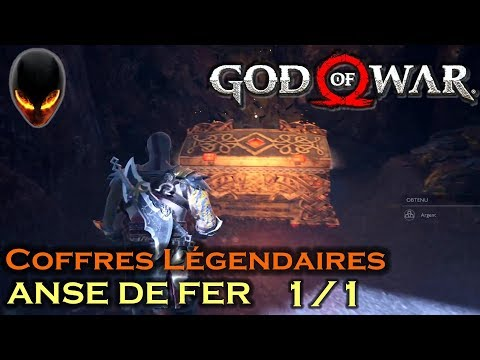 GOD OF WAR Coffres Légendaires - ANSE DE FER (Midgard) 1/1