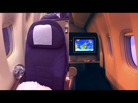 United Polaris Business Class Singapore - Hong Kong Boeing 777-200ER