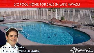 Lake Havasu Pool Home for sale at 950 Revere Dr