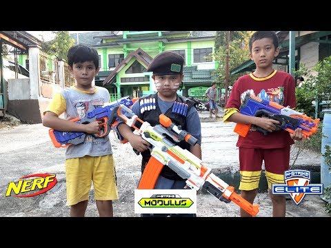 Perang - Perangan Tembakan Nerf