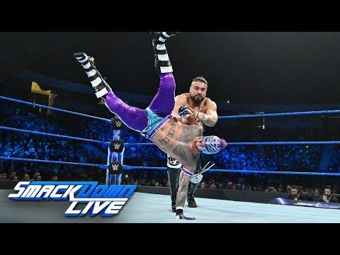 Rey Mysterio vs. Andrade: SmackDown LIVE, Jan. 15, 2019 Mp3