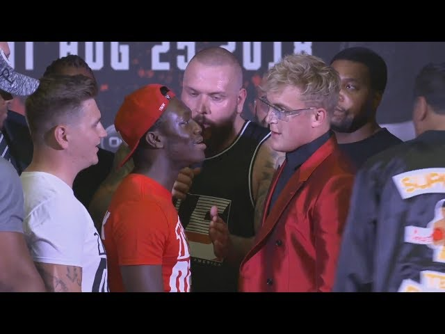 DEJI VS JAKE PAUL FULL PRESS CONFERENCE