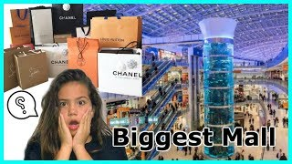 LEAVING SHOPPING BAGS AT THE BIGGEST MALL IN USA 🇺🇸😢😭🙈#241