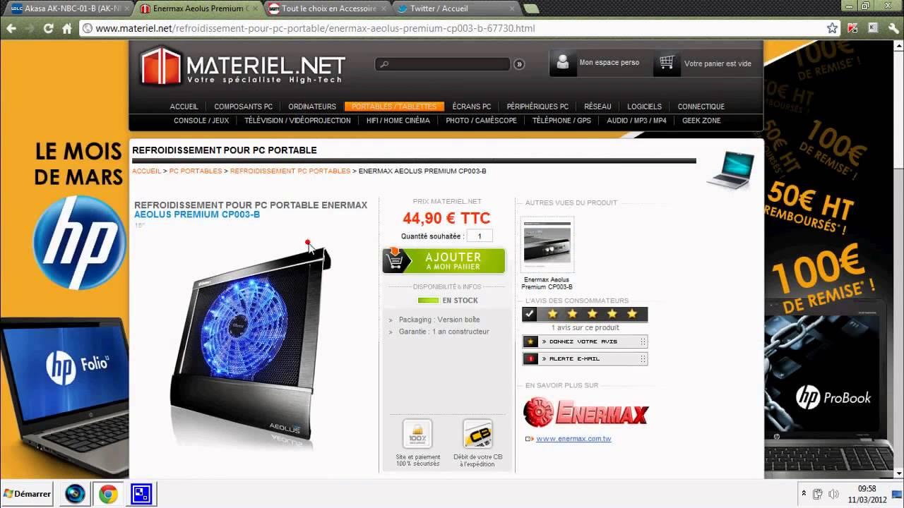 tuto pc portable qui chauffe trop voici la solution youtube. Black Bedroom Furniture Sets. Home Design Ideas