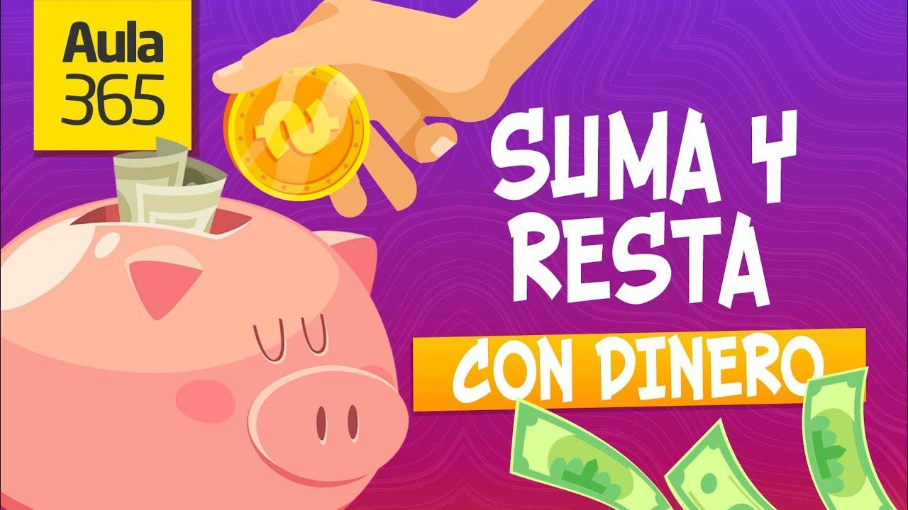 ¿Cómo aprender a sumar y restar con Dinero? | Videos Educativos para Niños