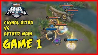 MPL-PH Game1 | The King of Comeback! Cignal Ultra vs Aether Main