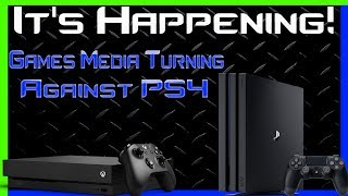 It's Happening! The Media Turns Against The PS4 And Says The Xbox One X Can Comeback!