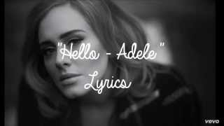 Hello - Adele Lyrics/Letra