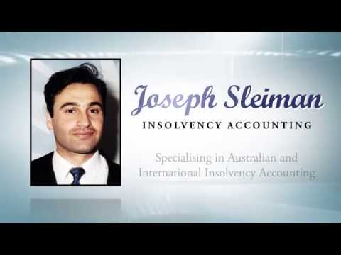 Joseph Sleiman Insolvency Accountant