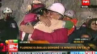 Rescate Primer Minero Florencio Ávalos