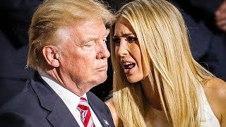 According to reports, Ivanka Trump welled up with tears over her fa...