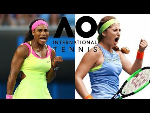 Serena Williams vs. Jelena Ostapenko - AO Tennis - Fantasy Match