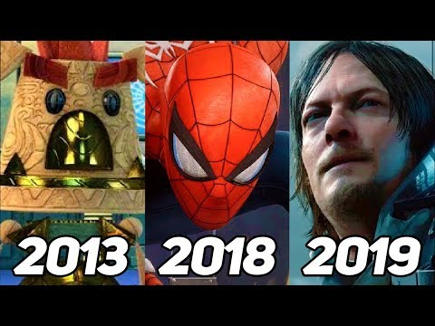 Evolution Of PS4 Exclusive Games 2013-2019