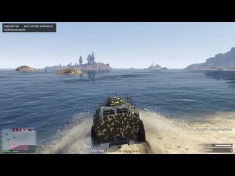 """GTA V ONLINE DLC TRAFIC D'ARMES MISSION 4 """" À L'ABORDAGE """""""