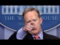 Donald Trump Press Secretary Sean Spicer Press Conference Briefing Skype Call 2/3/2017
