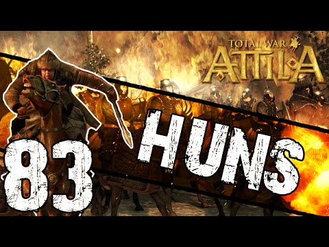 Total War: Attila - Huns Campaign #83 ~ SAXON PERIL!