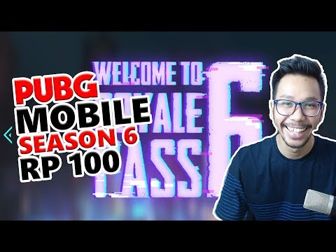 BAKAR UC ROYALE PASS LEVEL 100 SEASON 6 - PUBG MOBILE INDONESIA