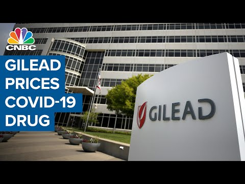 Gilead announces long-awaited price for Covid-19 drug remdesivir
