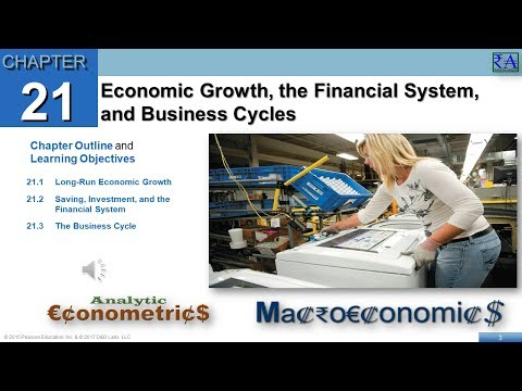 Macroeconomics - Chapter 21: Economic Growth, the Financial System, and Business Cycles